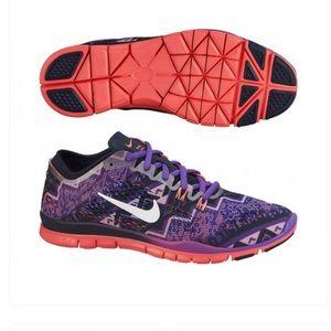 Nike Sneakers Free 5.0 TR FIT 4 PRT Sz 5.5 Purple